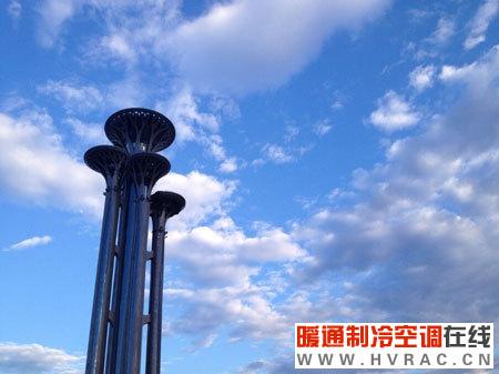 项目赏析:奥林匹克公园瞭望塔全部应用海林公司中央